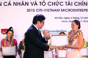 2015 Citi-Vietnam Microentrepreneurship Awards