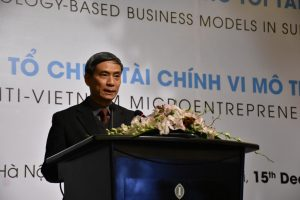 Workshop on Technology-based Business Models in Support of Financial Inclusion in VIetnam