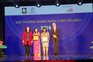 Profile of Typical Microentreprenuers and Microfinance Institutions of 2014 Citi- Vietnam Microentreprenuership Awards