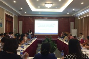 Workshop on microfinance and the registration process of MFIs in Vietnam