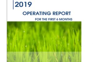 Operating report for the first 6 months of 2019